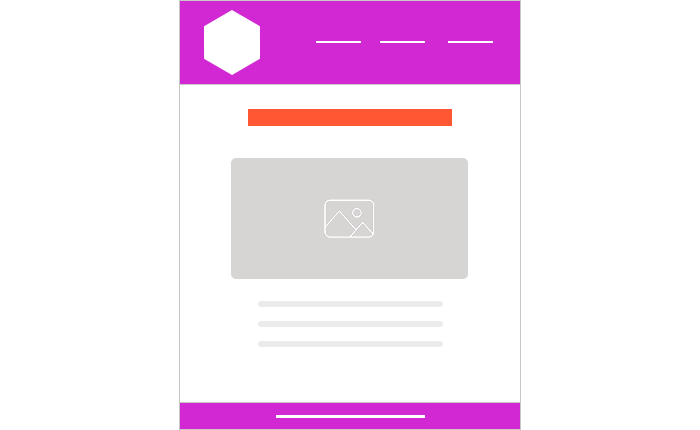 attractive email design layouts