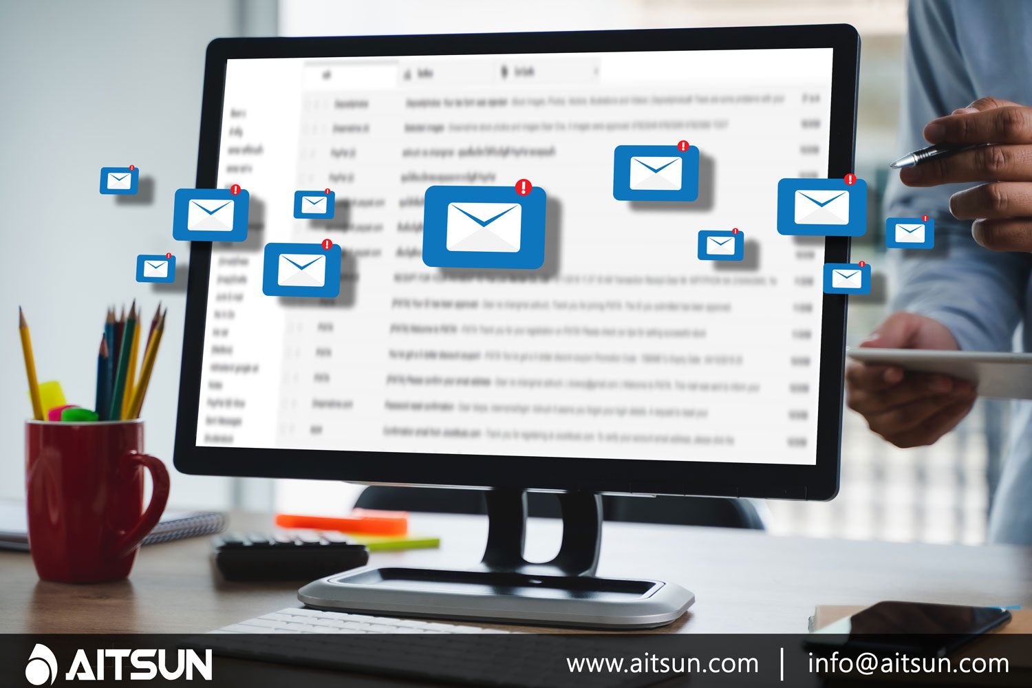 email marketing with aitsun technologies